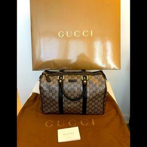 SOLD Gucci 💙Boston Crystal Doctor Bag Purse